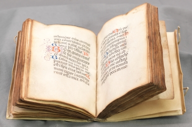 Book of Hours, open