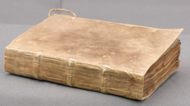 Book of Hours, spine