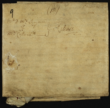 Mortgage, 1686, of Land in Essex to Dorothy Collard of Barnstone