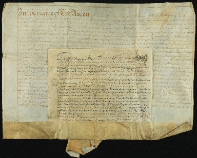 Will and Probate, 1700-1701, of Elizabeth Twywell