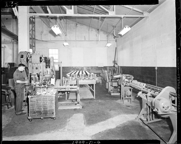 Sutherland Paper Company can manufacturing shop