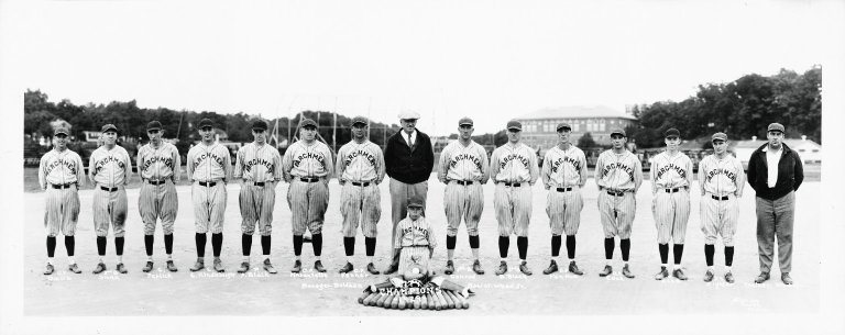 Parchment Baseball Team 1929 City Champions photograph