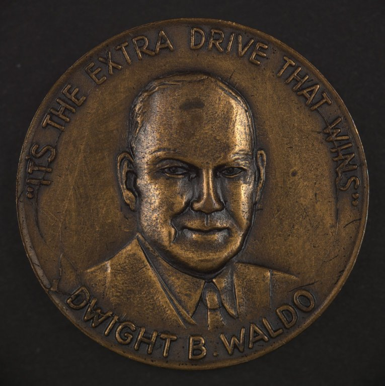 Dwight B. Waldo commemorative coin