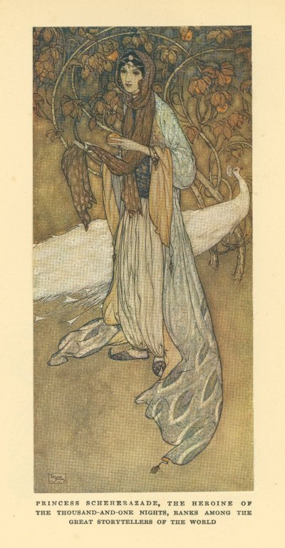 [Arabian nights, Scheherazade [plate]]