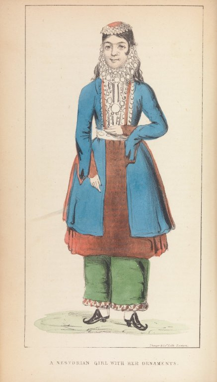 A Nestorian Girl, with Her Ornaments