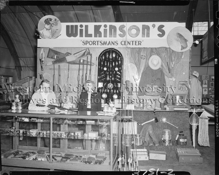 Wilkinson Sport Store, trade show display with employees