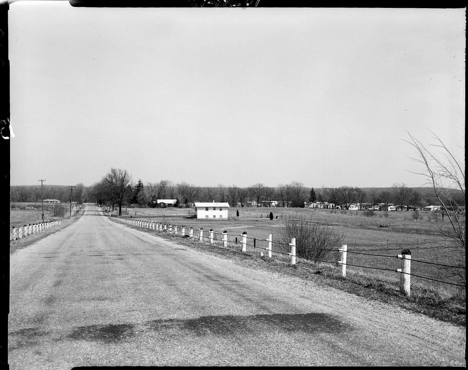 Country road near Galesburg
