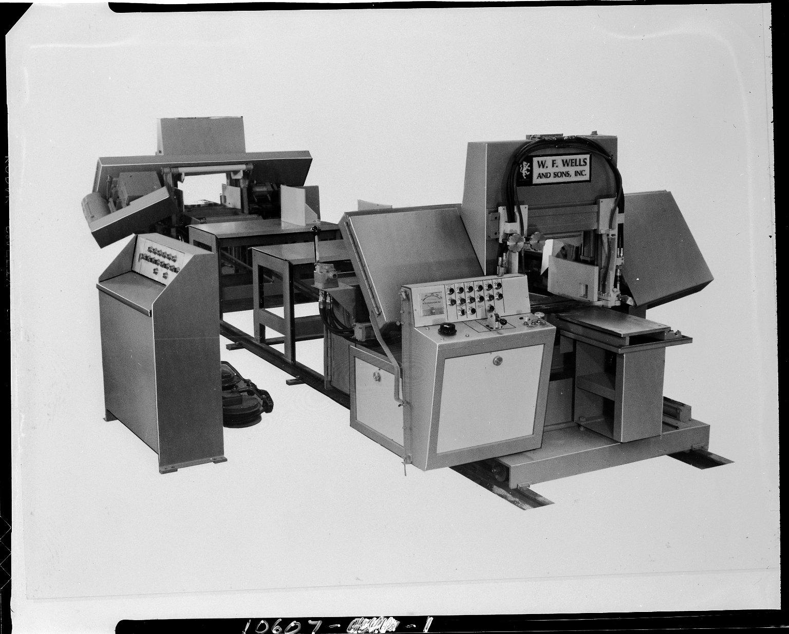 W. F. Wells and Sons, Inc., band saw system