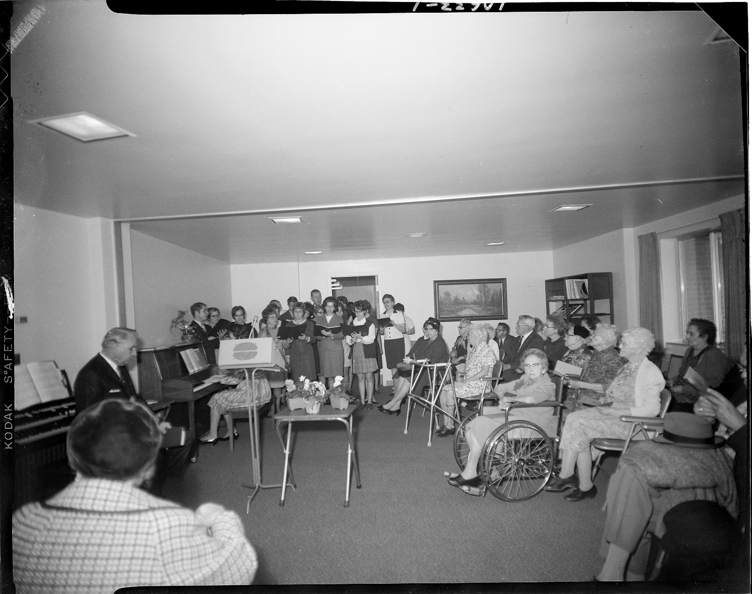 Harold and Grace Upjohn Community Nursing Home, choir at senior citizens' home