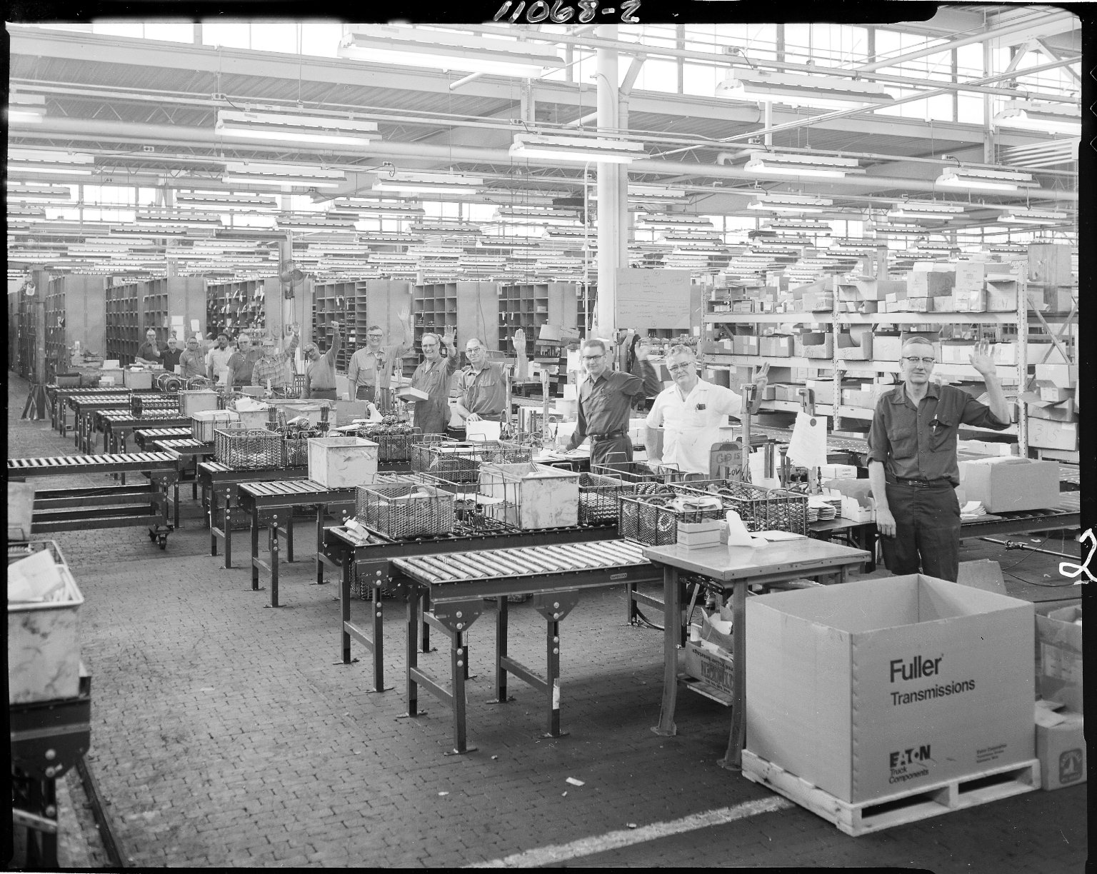 Eaton Corporation, men on assembly line