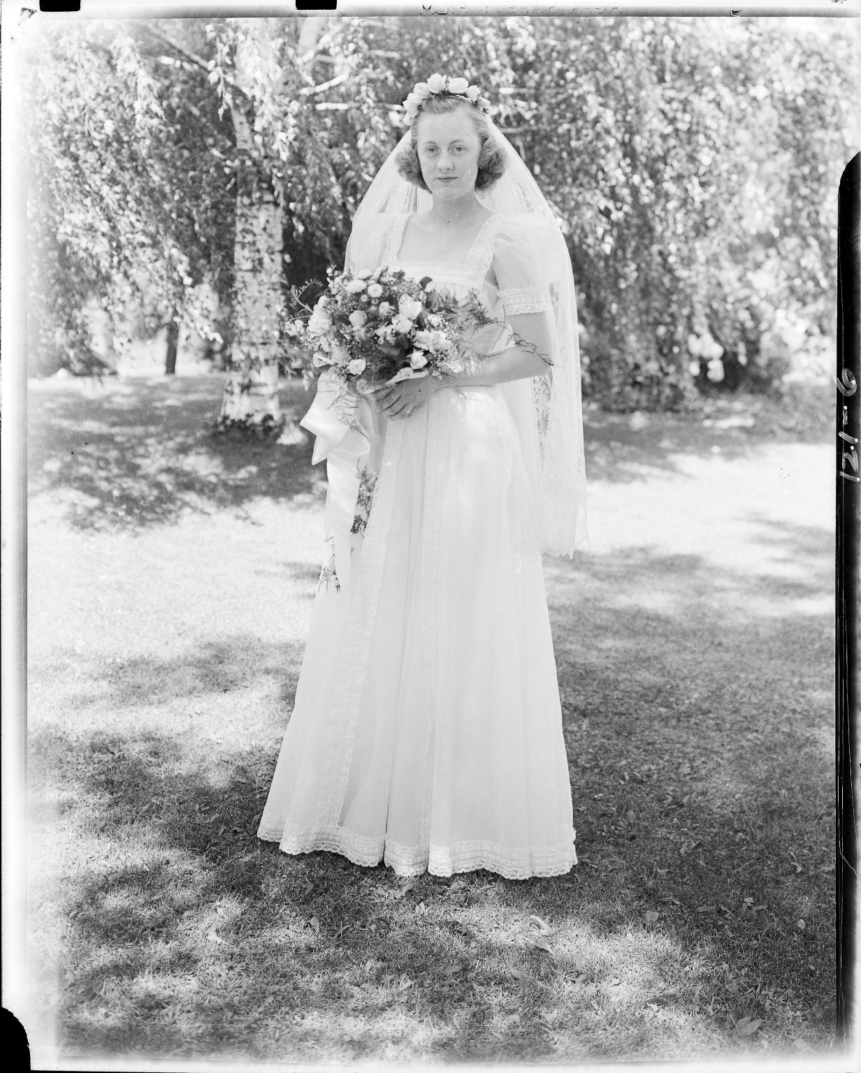 Wedding portrait, Jane Sidnam Heath