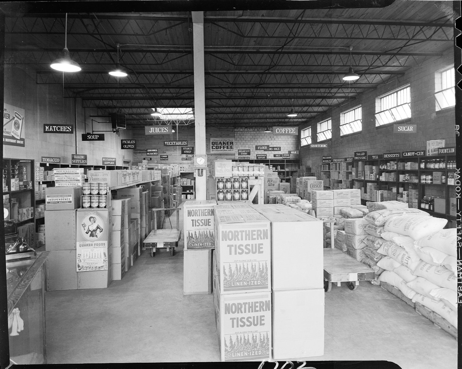 Warehouse grocery store