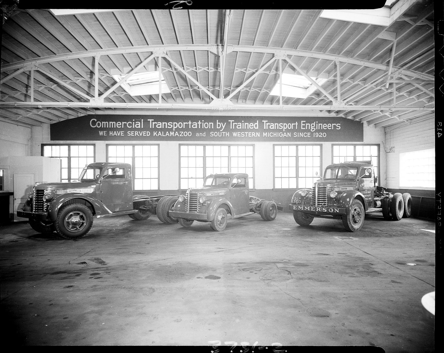John P. Koester Company, commercial truck display