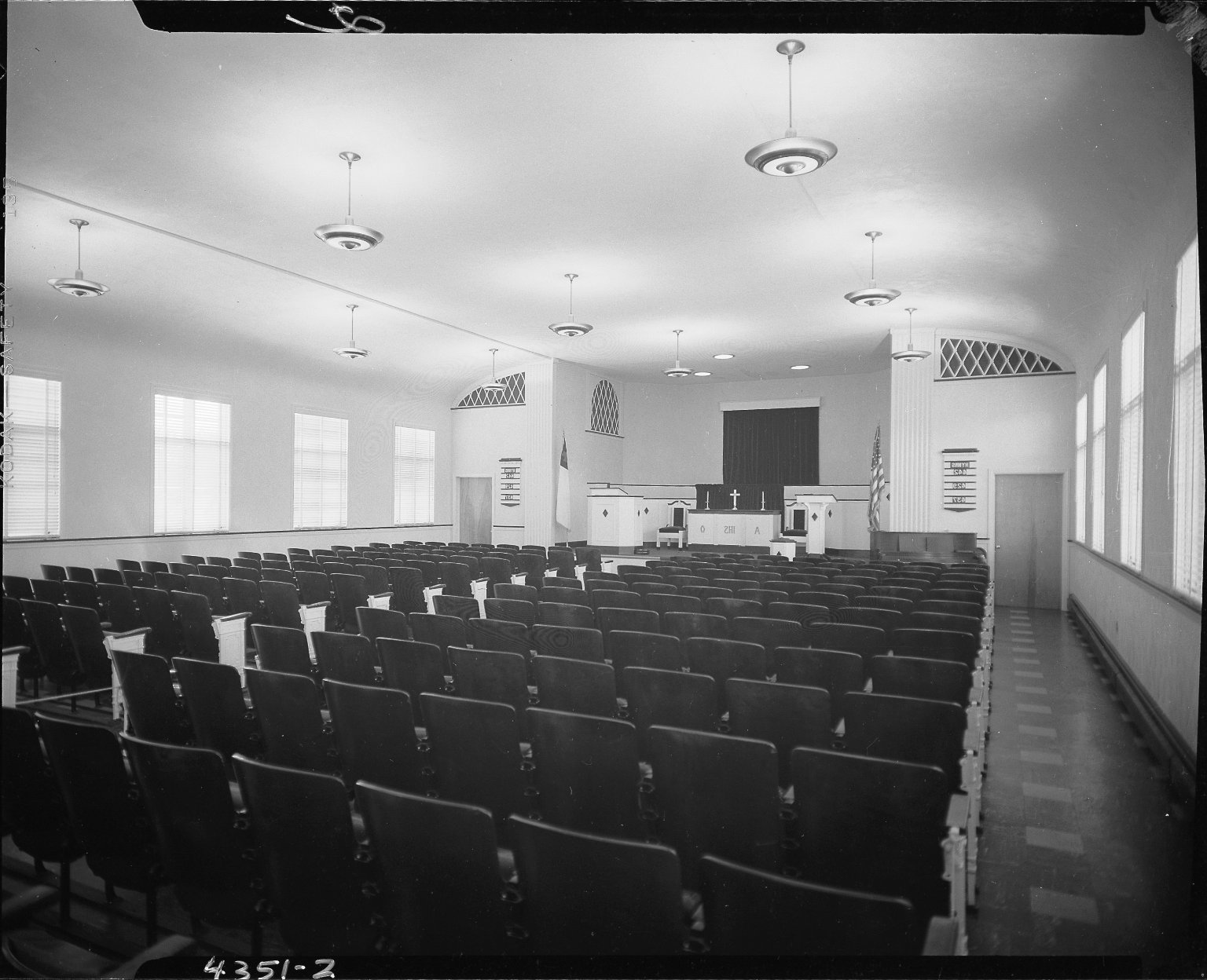 Miller Lumber Company, Hope Reformed Church, interior, Kalamazoo, MI