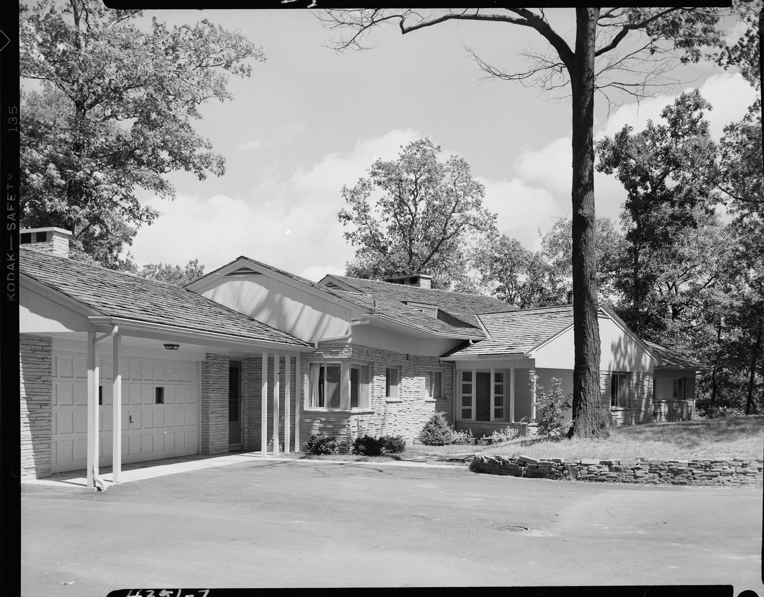 Miller Lumber Company, home exterior, flag stone front