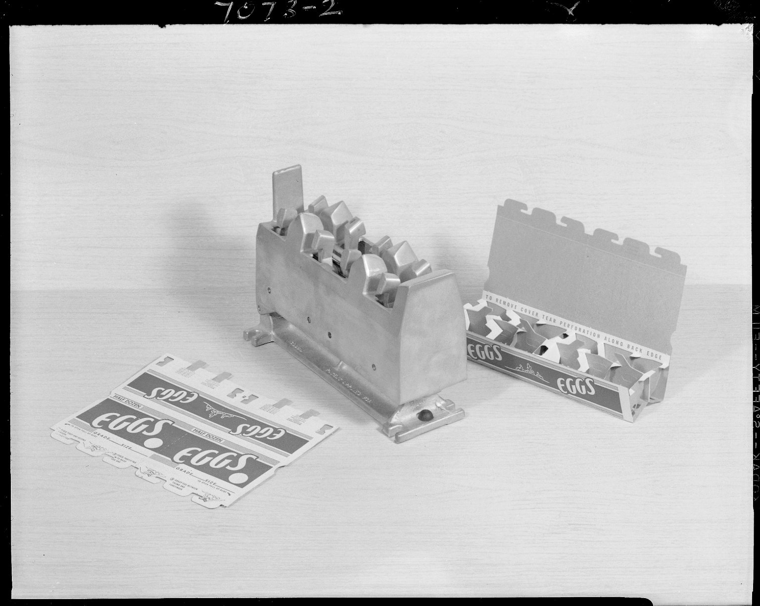 Sutherland Paper Company, egg carton with die