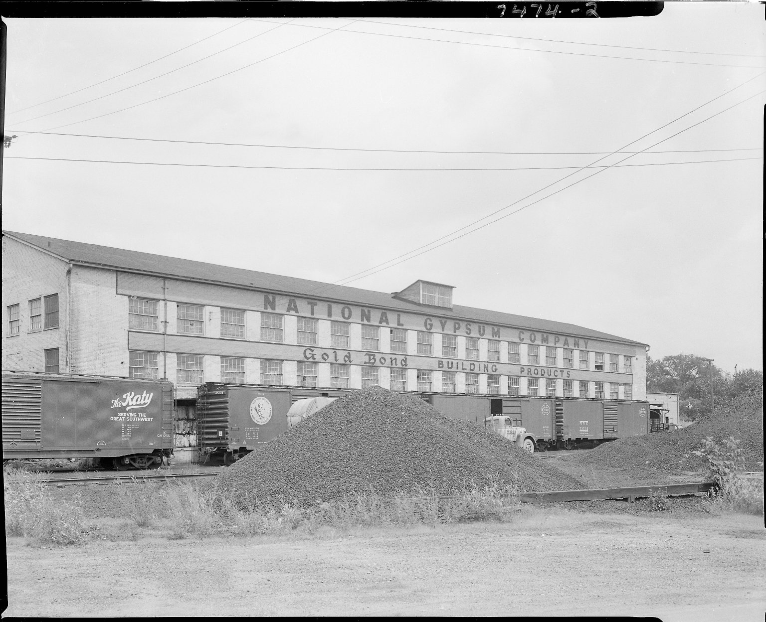 National Gypsum Company, factory, exterior