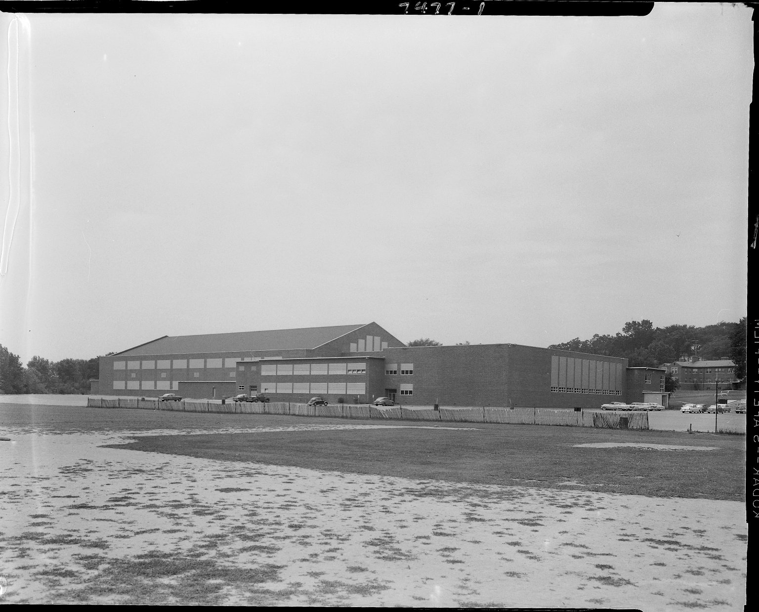 Western Michigan University, Read Field House, east side, exterior