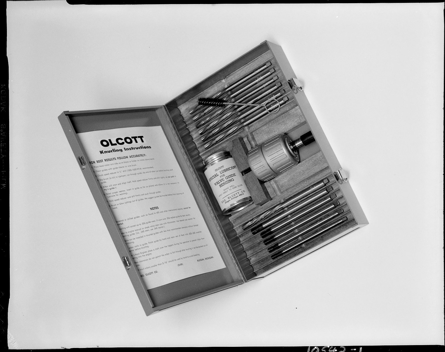 George Olcott Company, valve resizing kit product