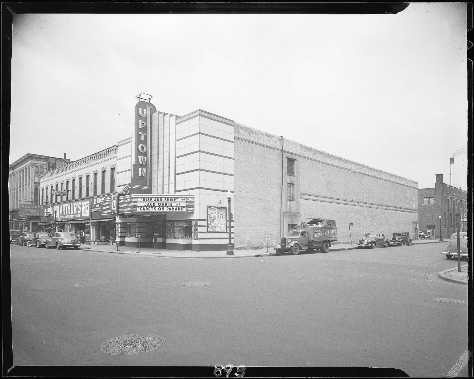 Uptown Theater, exterior