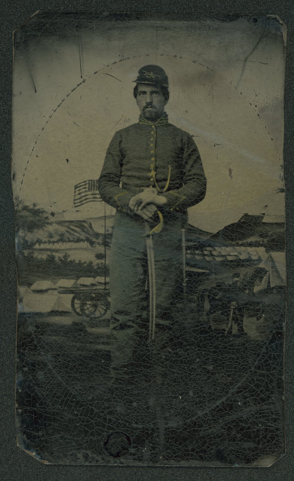 U. S. Civil War soldier portrait