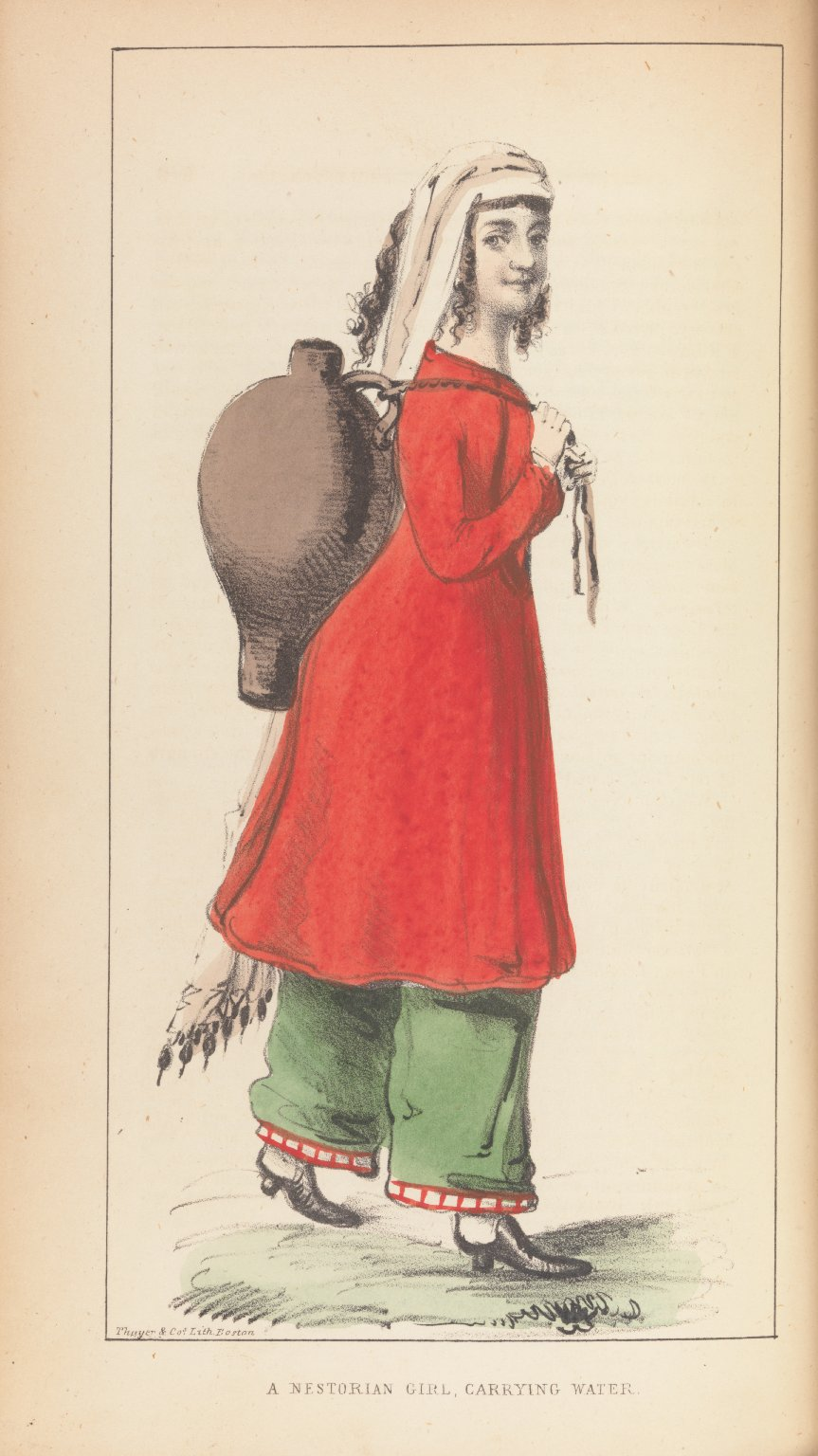 A Nestorian Girl, Carrying Water