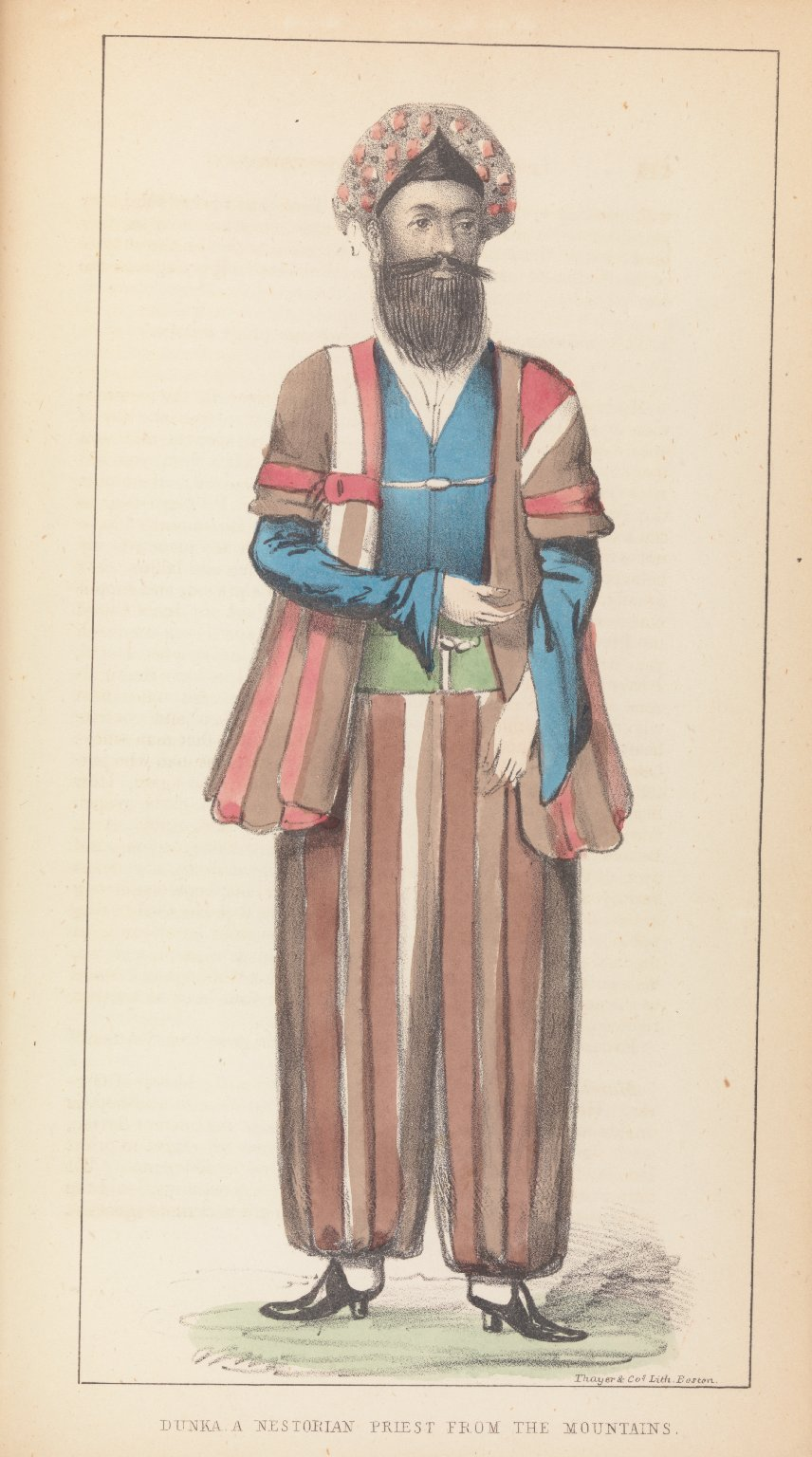 Dunka, a Nestorian Priest from the Mountains