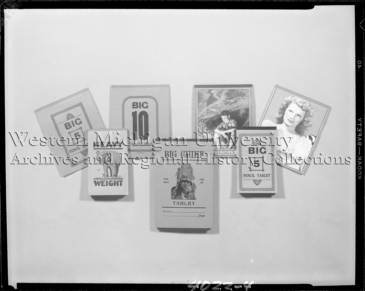Elam-Elkhart Stationery Company, paper tablets