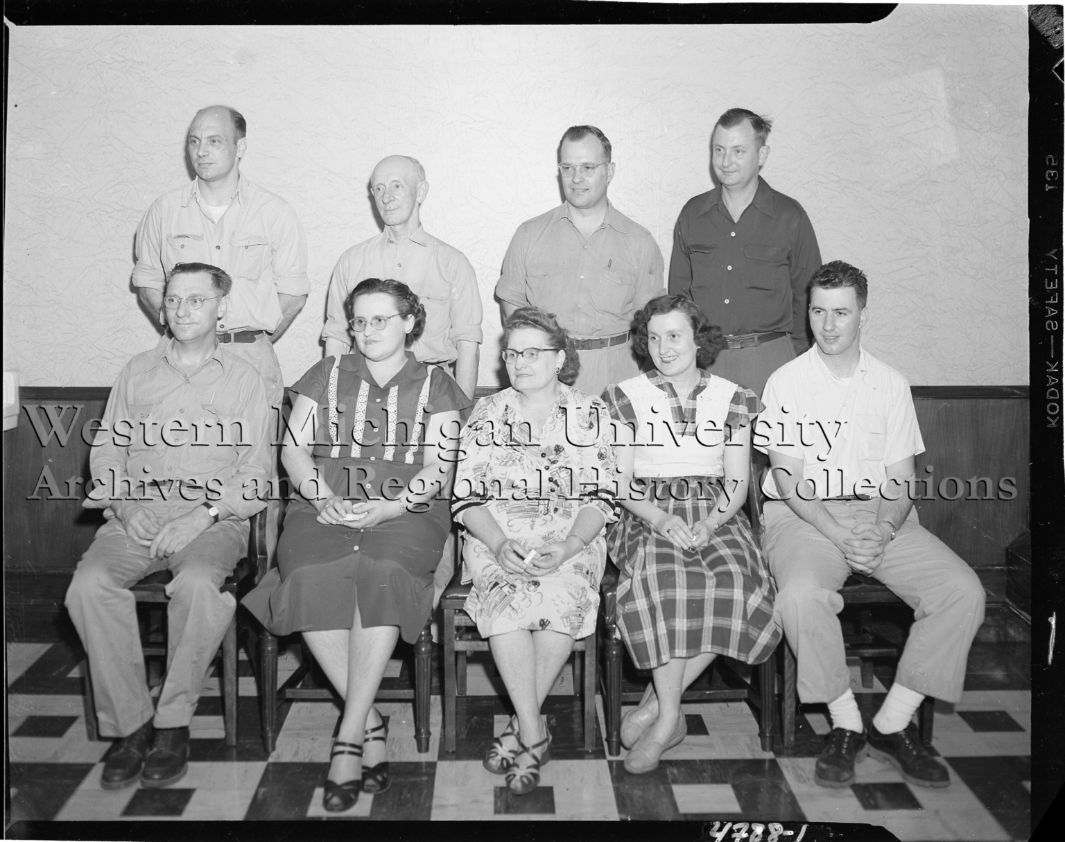 Peter Eckrich & Sons, Inc., group portrait of employees
