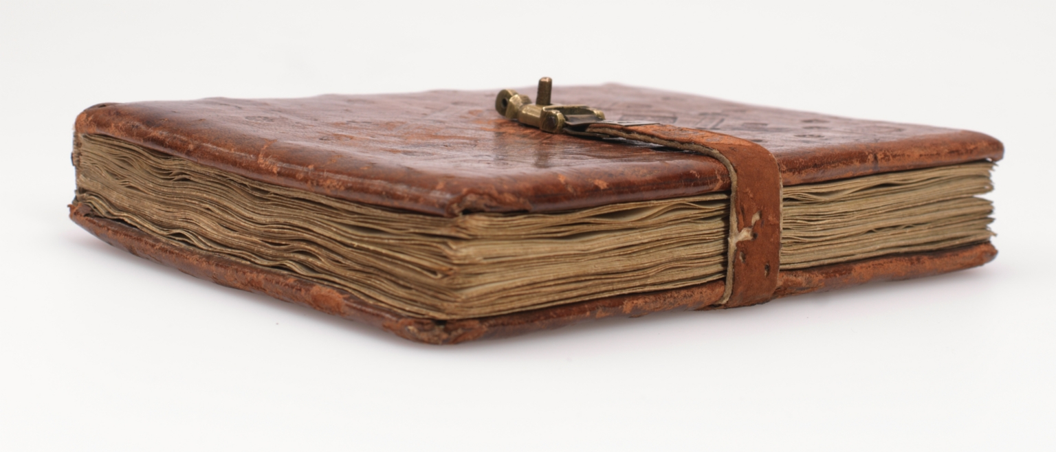 Dominican Sisters' office book, fore-edge and tail