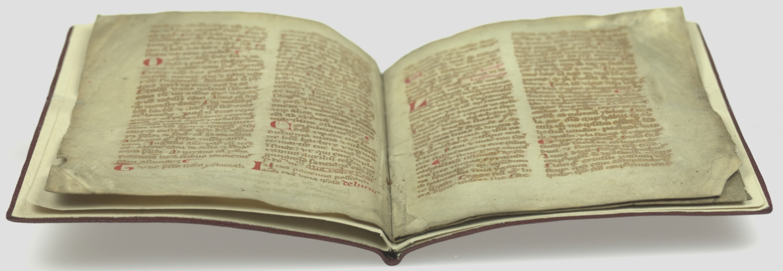 Leaves from a Breviary, open